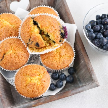 Blueberry muffins recept