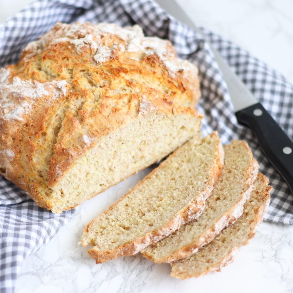 Soda bread van Chef Joan van Coffeelicious