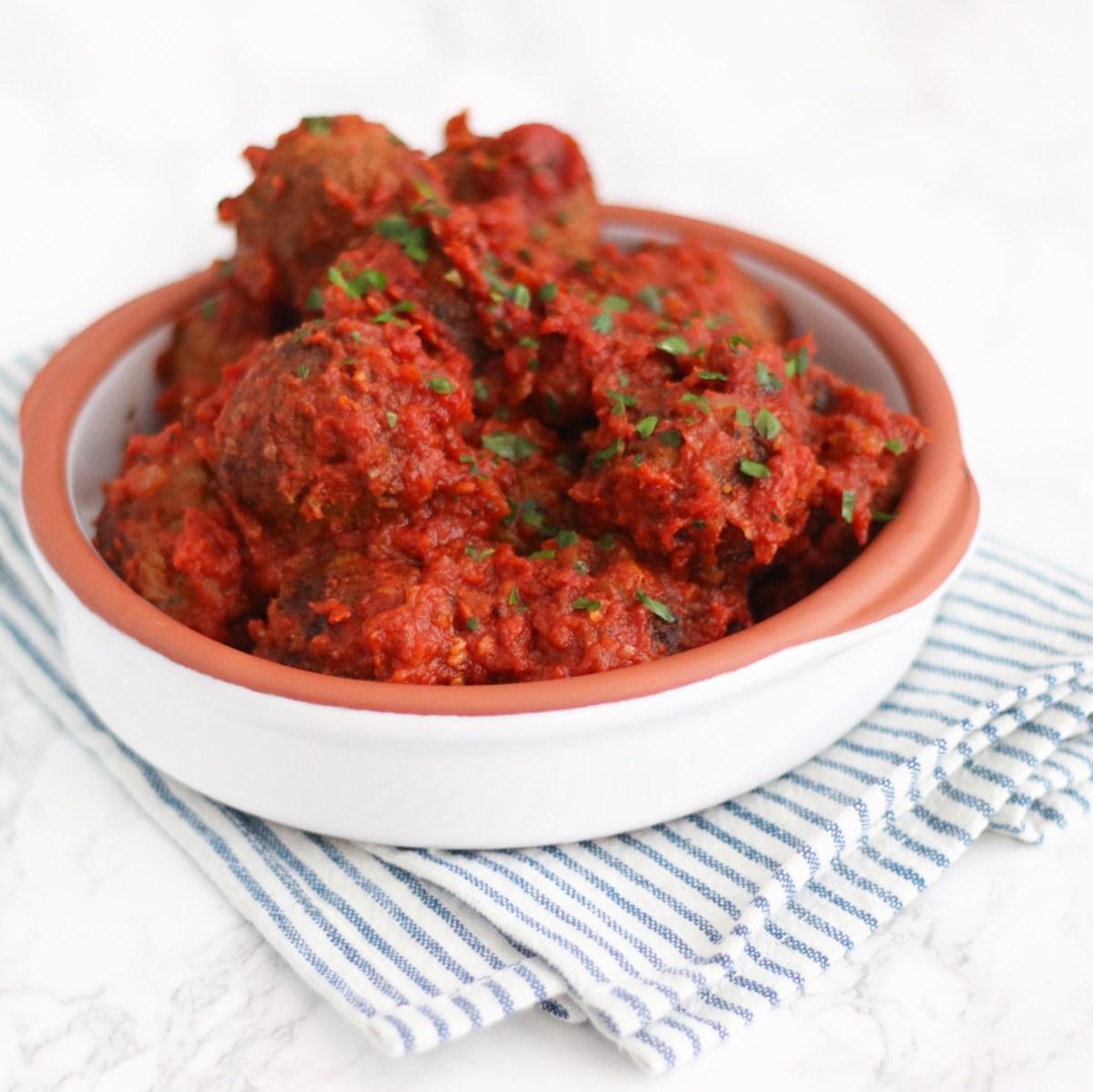 Albondigas, Spaanse gehaktballetjes in tomatensaus