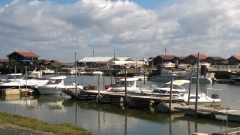 Little fishing village famous for oysters