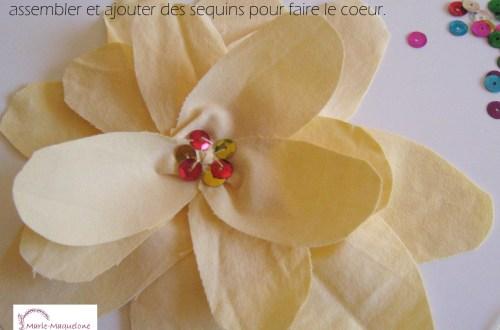 DIY - Fleur en tissu