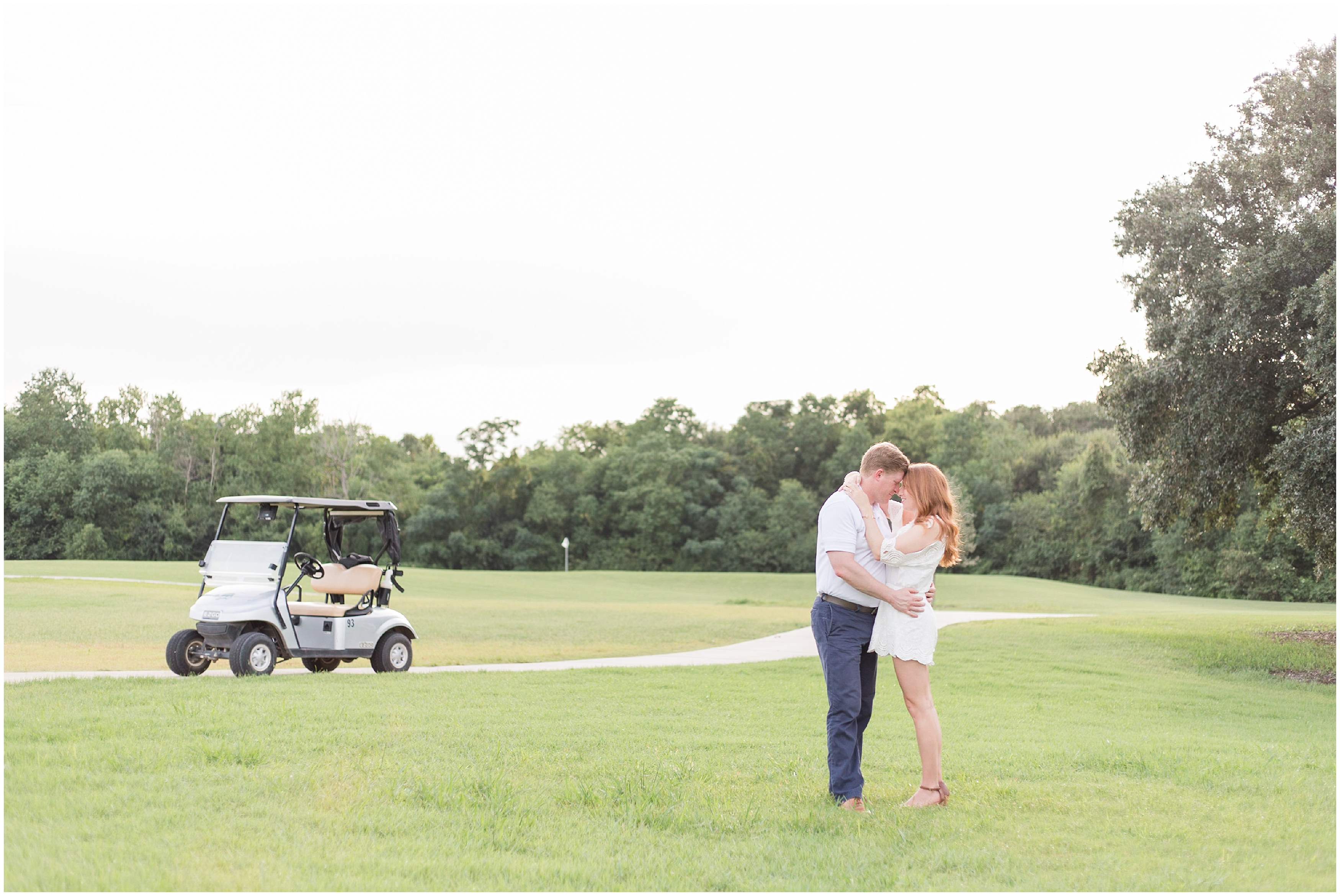 Bayou Oaks Golf Course Engagement Session, Engagement Session, Bayou Oaks Golf Course, Marie Mineo Photography, New Orleans Engagement Photographer, NOLA Engagement Photographer, NOLA Wedding Photographer, New Orleans Wedding Photographer