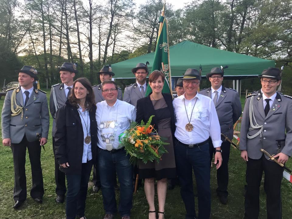 2015-Königspaar Miky Pytlik und Maries Heisterkamp