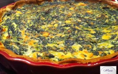 Tarte épinards saumon… Marie Pop s'éclate avec la cuisine des placards !
