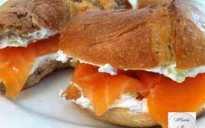 Bagel au saumon fumé… C'est quand même plus sexy qu'un jambon beurre !