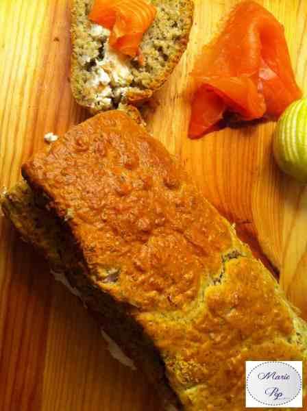 Cake scandinave au saumon fumé - la recette