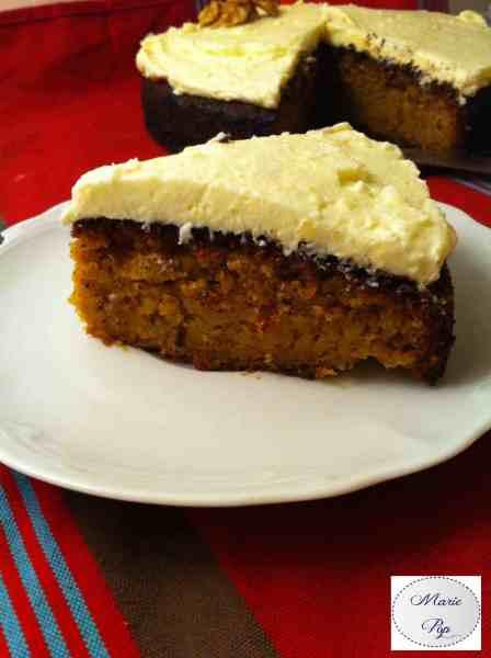 Carotte Cake - la recette