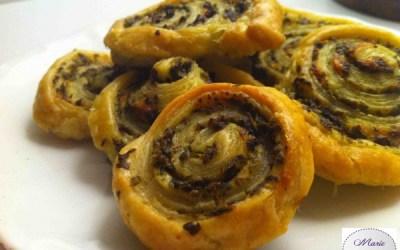 Escargots Feuilletés au Pesto… L'apéro est carrément chou !