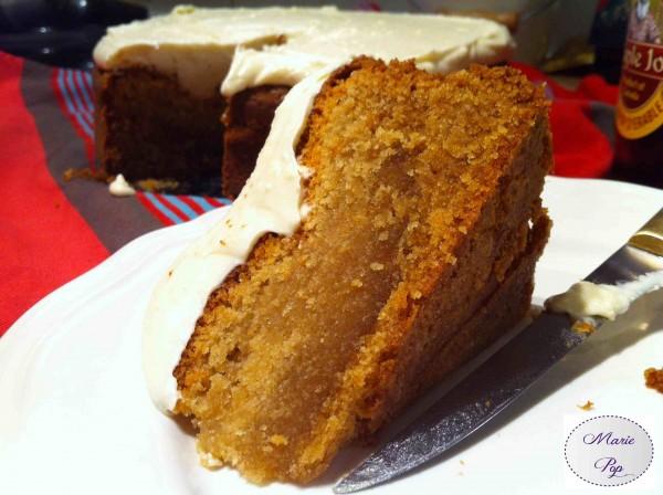 Maple cake - Gâteau au sirop d'érable - la recette