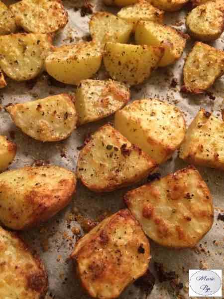 Pommes de terre à l'ail et aux herbes - la recette