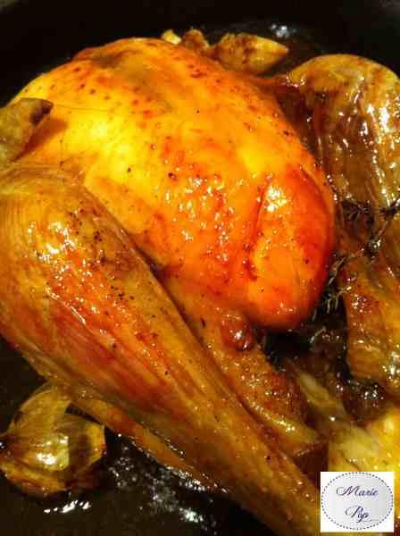 Poulet ou Dinde au sirop d'érable - la recette festive