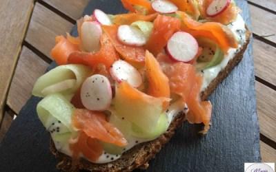 Tartine Fraîcheur… Un déjeuner poétique !