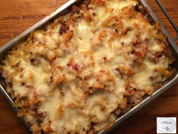 Gratin de Bolo… Qui a dit que c'était triste les pâtes ?