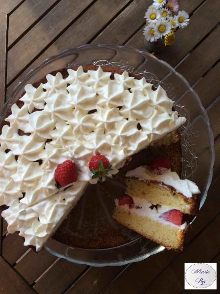 L'époustouflant aux fraises - la recette
