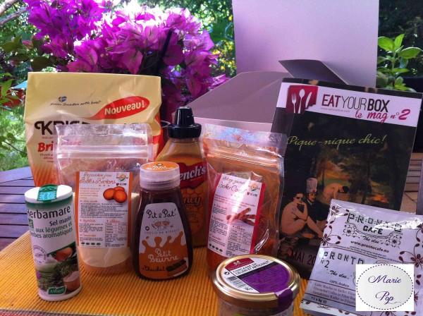 Eat your box  - contenu Box L'Atelier des Chefs