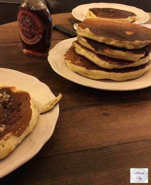 Pancakes de Grandma Davenport -la recette