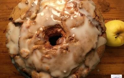 Gros gâteau pomme cannelle… on s'en délecte !