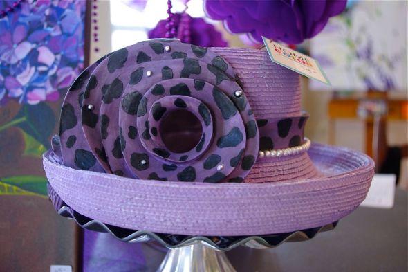 PURPLE HAT •birdhouse • $24