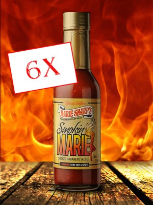 Marie Sharp's Smokin' Marie hot sauce