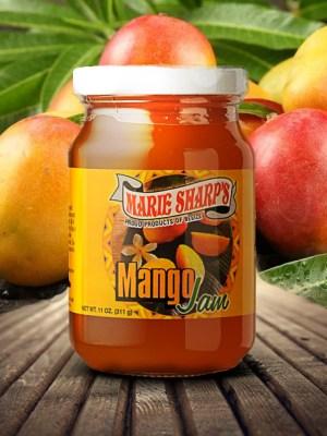 Marie Sharp's mango jam
