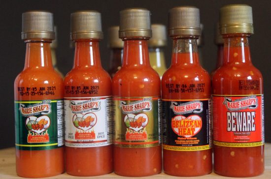 original 5 hot sauce marie sharp
