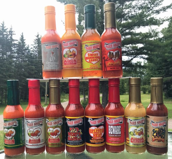 12 pack 5 oz hot sauce