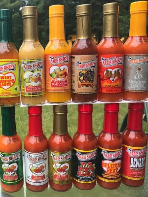12 hot sauce Marie Sharp's