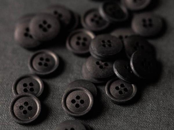 Cotton Button 15mm | Sweeps Scrim
