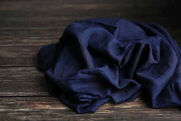 Leinen-Jeans-meliert