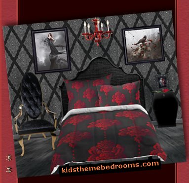 Gothic Bedroom Ideas Decor