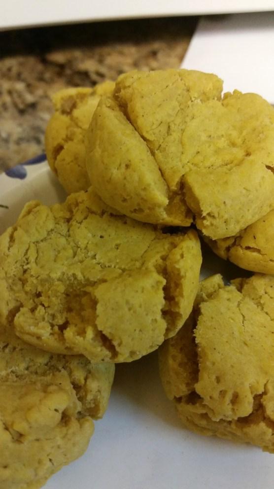 Ta Da! Pumkin Sugar Cookies