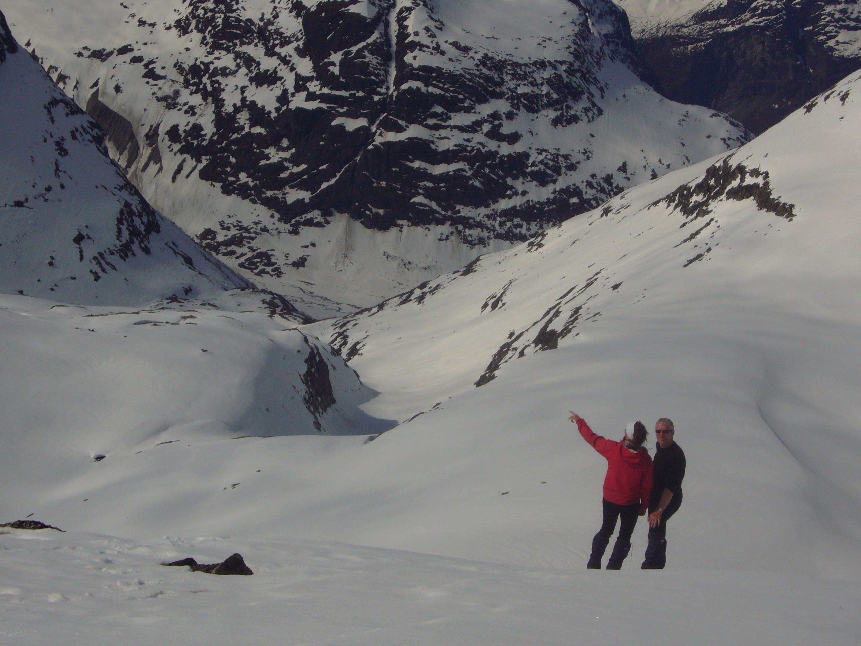 På vei ned til Kåpevann
