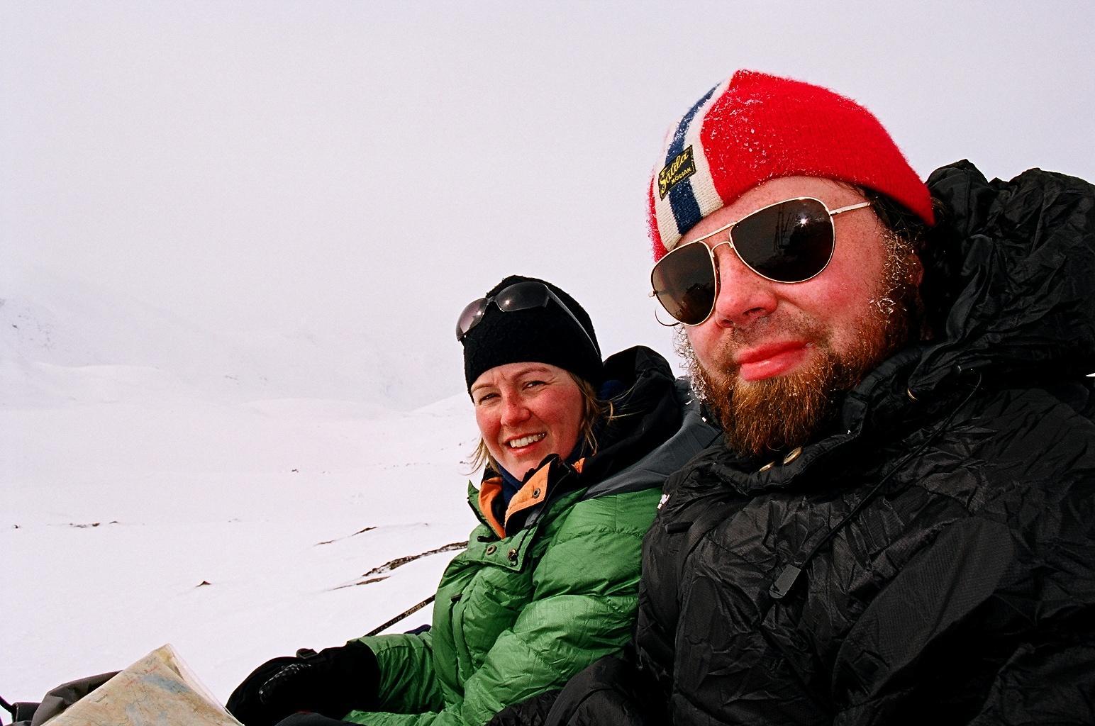Påskerast i Tafjordfjella, på vei ned fra Torsnosi