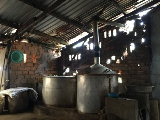 Rice whisky still in Dalat, Vietnam