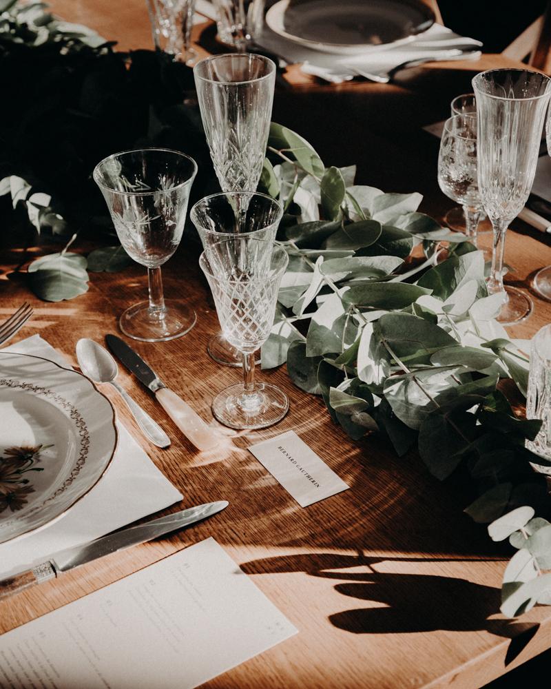 deco mariage eucalyptus
