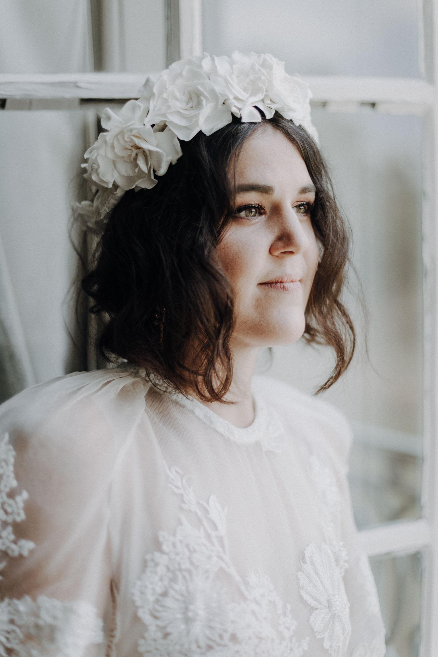 portrait mariée normandie