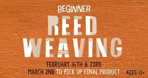 Beginner Reed Weaving