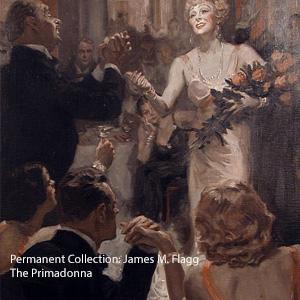 James M. Flagg - The Primadonna