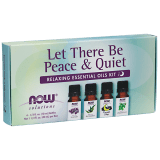 Let There Be Peace & Quiet Oil Kit Essential Oils For Rest & Relaxation