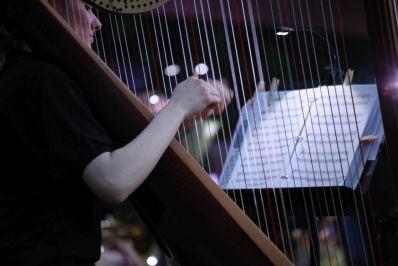 Amanda Melton, Harp