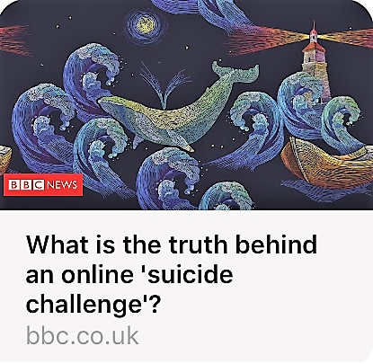 Suicide Challenge of the Blue Whale!