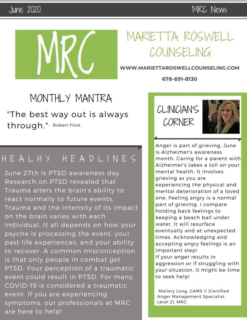 MRC Newsletter