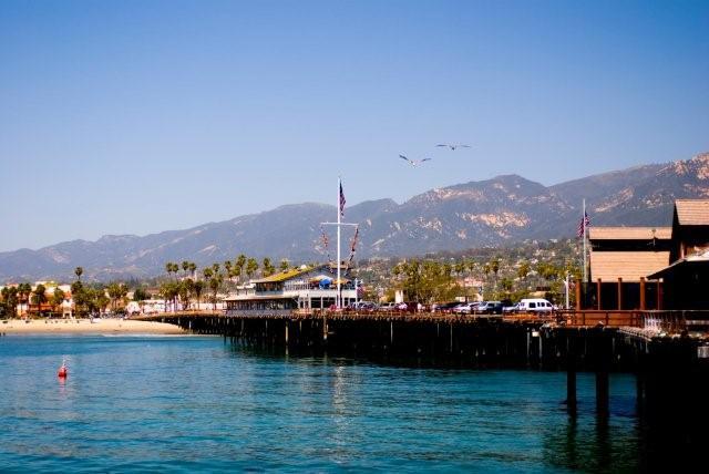 Santa Barbara plage