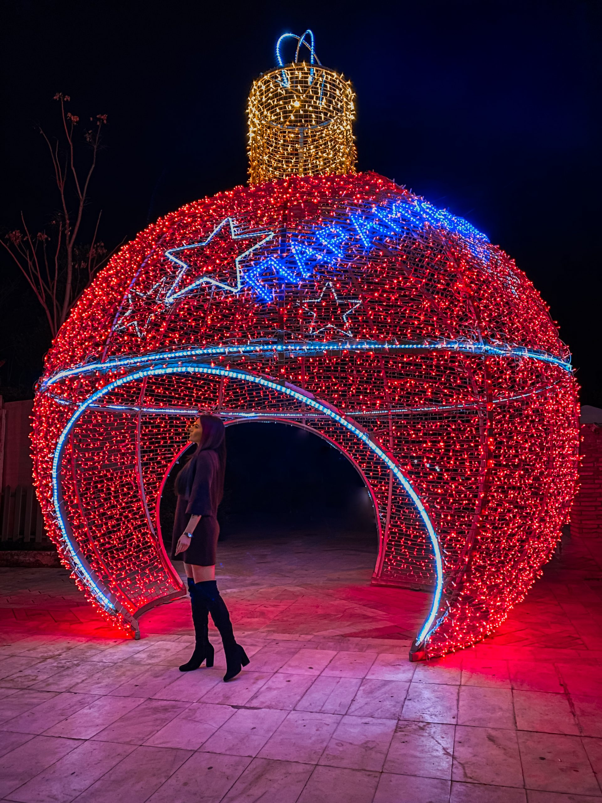best christmas spots to see in Athens