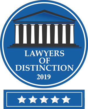 Lawyers of Distinction 2019 Logo - Awards