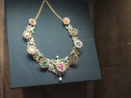 Some of the beautiful jewellery we saw today