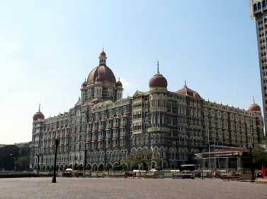This is the Taj Mahal Palace Hotel. It was one of the places that was bombed during one of the bigger attacks in Mumbai