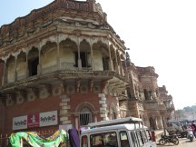Varanasi is thought to be one of the world's oldest continuously lived-in places. Some of the buildings sure look old....
