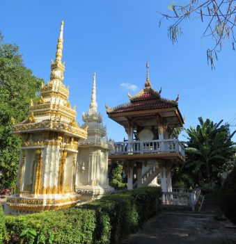 Our first stop was Wat Si Saket