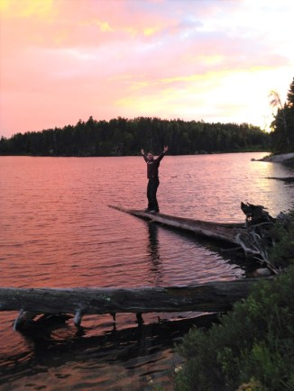 Fantastic Sunsets over the Canadian Shield